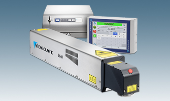 Videojet 3140 10W CO2 Laser Marking System for Printing on Paperboard Containers