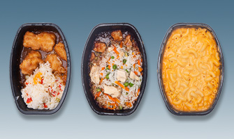 Videojet 1550: Continuous Inkjet applications for Frozen Prepared Meals